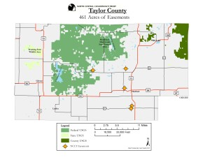 Taylor County Preserved Lands