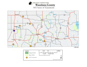 Waushara County Preserved Lands